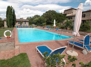 Podere Sagna swimming pool